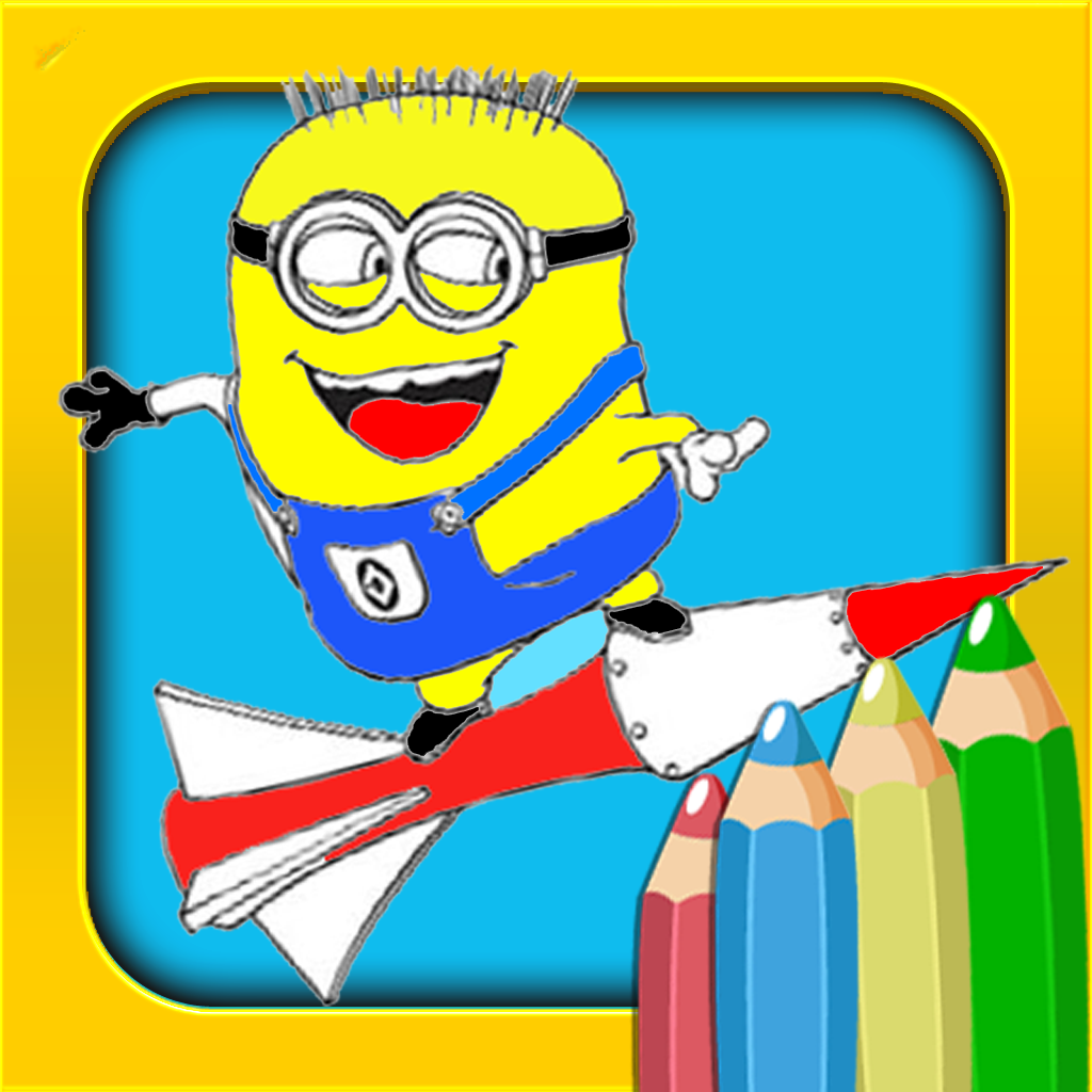 Color Book for Minion Rush | FREE iPhone & iPad app market
